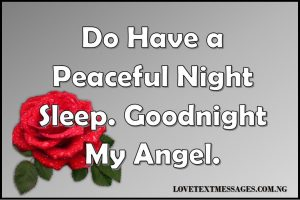 Romantic Good Night Love Quotes for Her