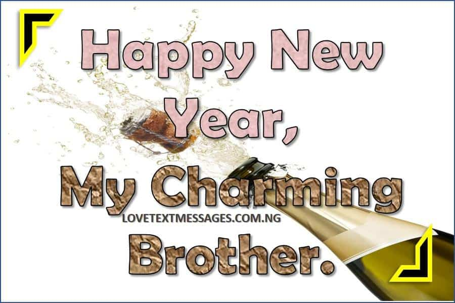 happy new year 2018 to brother