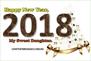Happy New Year 2018 to Daughter