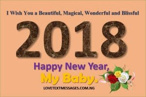 Happy New Year 2018 to My Daughter