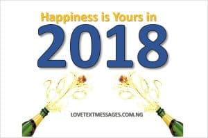 Happy New Year 2018 to a Co-worker