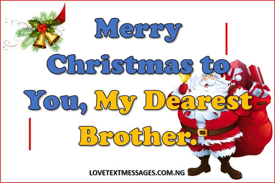 Merry Christmas to Brother