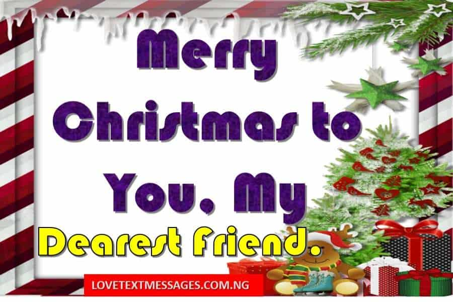 Merry Christmas to Friends.
