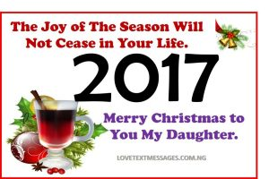 Merry Christmas 2017 to My Daughter