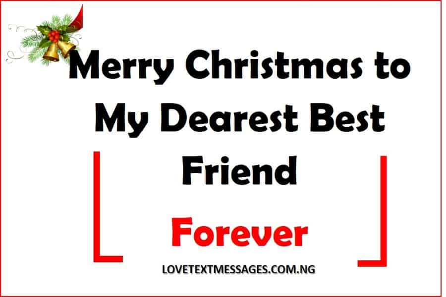 Merry Christmas to My Friend