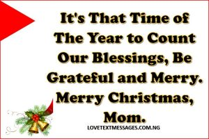 Merry Christmas 2017 to My Mother