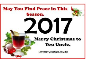 Merry Christmas 2017 to Uncle