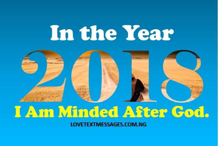 Prophetic Declaration for 2018 - Love Text Messages