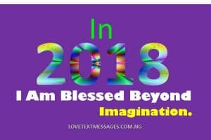 Prophetic Declaration for New Year