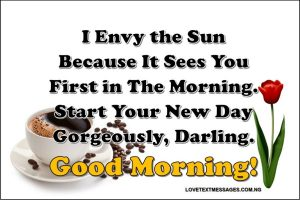 Cute Good Morning Text Messages for Her from the Heart