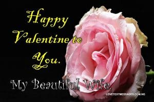 Happy Valentine Wishes for Wife