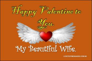 Message to My Wife on Valentines