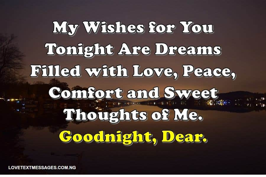 Romantic Goodnight Text Messages For Her From The Heart