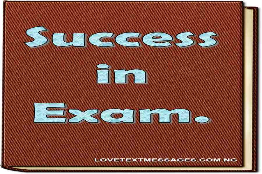 Exam Text Message