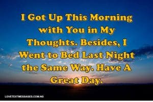 Sweet Good Morning Text Messages for Her from the Heart