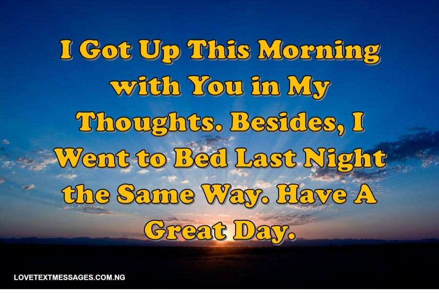 Sweet Good Morning Text Messages For Her From The Heart Love Text