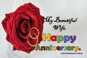 Anniversary Message for Wife