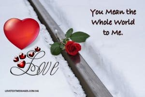 Best Love Message for Him