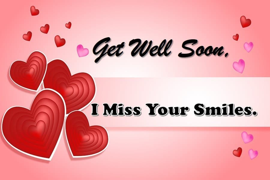 Get Well Soon Message for Girlfriend