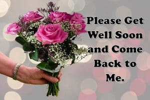 Get Well Soon Messages for Boyfriend