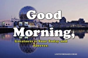 Good Morning Love Messages for Wife