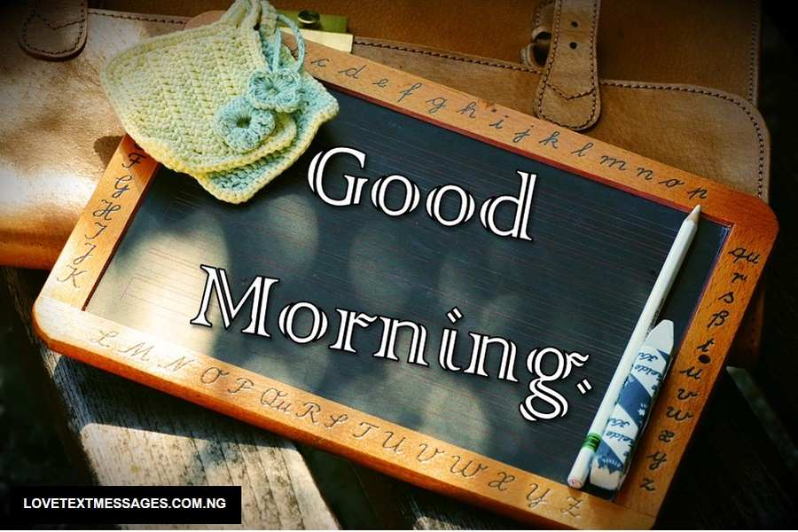 Good Morning Love SMS for Him