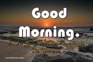 Good Morning Sms to My Wife