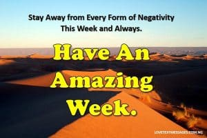 Great Week Quotes
