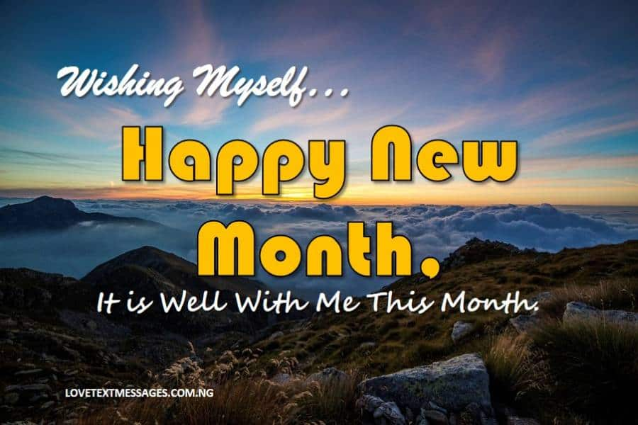 Happy New Month of March for Me