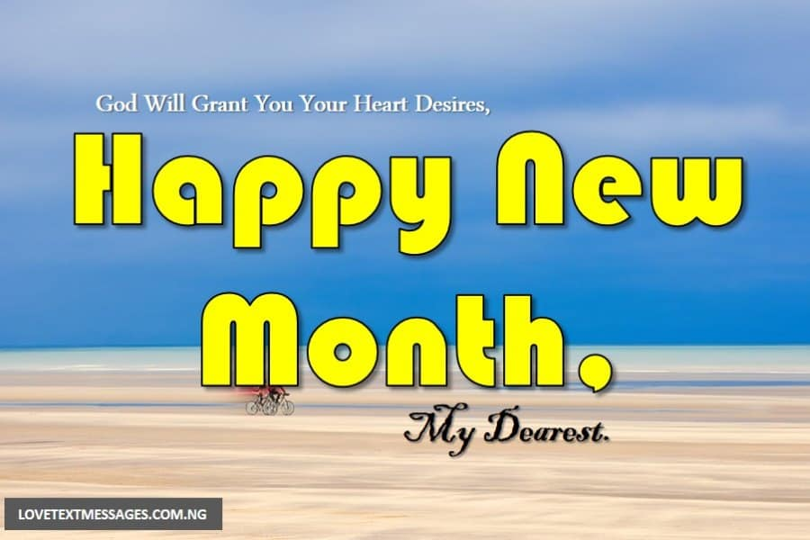 Happy New Month of March for My Love