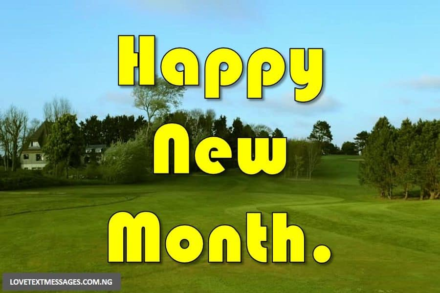 Happy New Month of March
