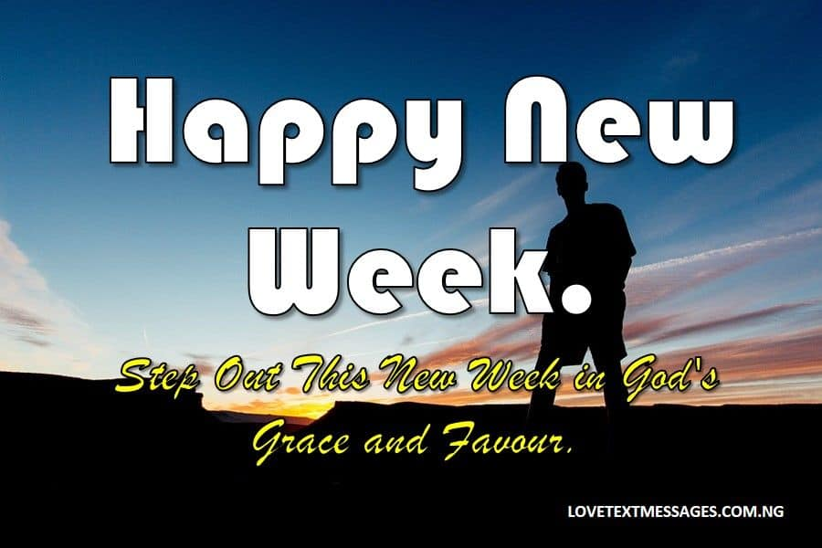 Happy New Week Prayer Messages