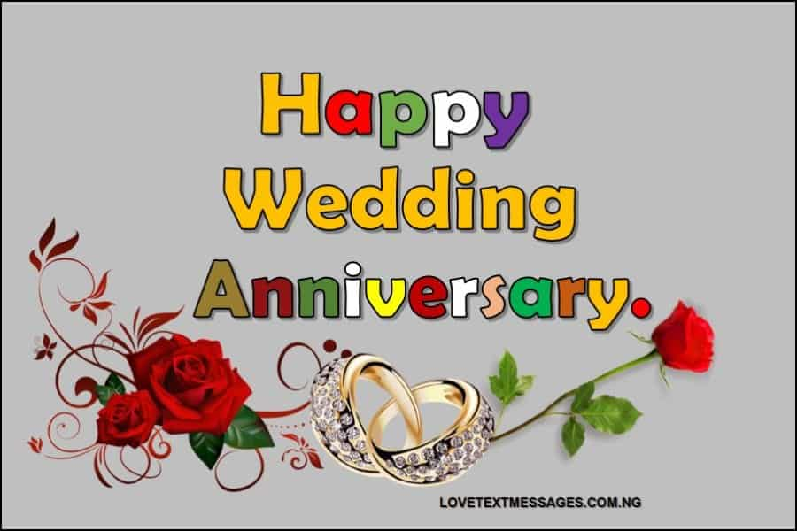 Happy Wedding Anniversary To Friend Love Text Messages