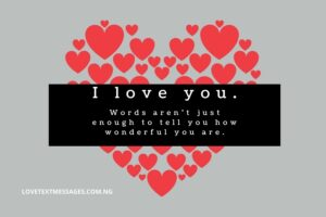 I Am in Love With You Messages