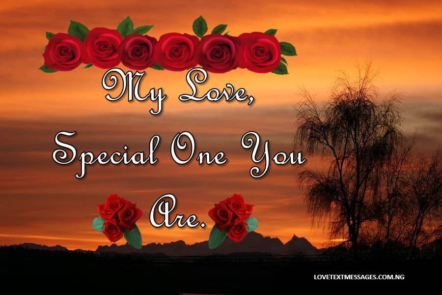 I Am in Love With You SMS
