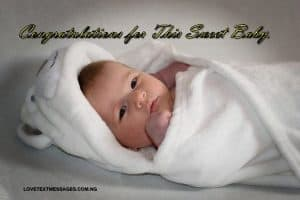 New Born Baby Message for Parents