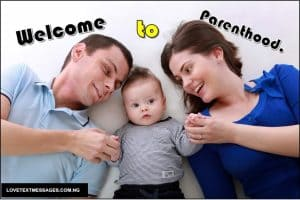 Wishing Message for New Born Baby to Parents
