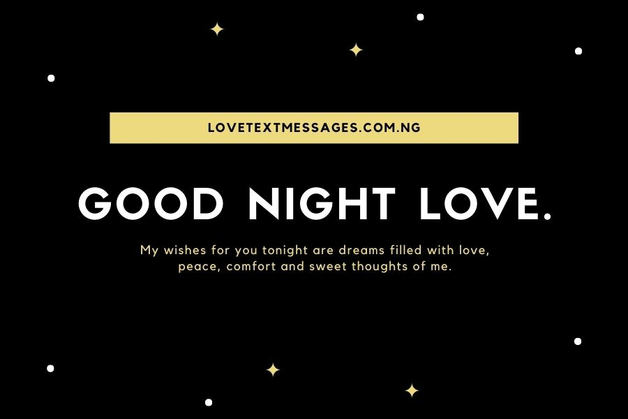 Good Night Romantic Messages for Her