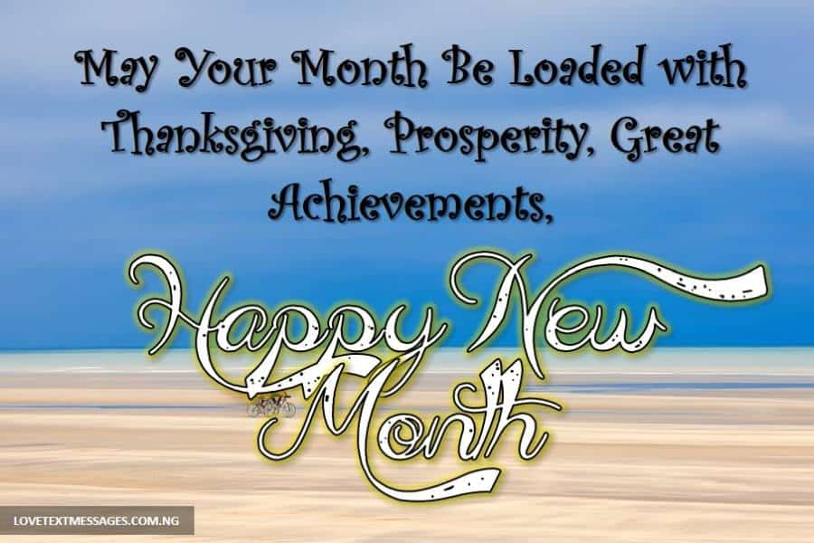 Happy New Month Prayers for Colleagues