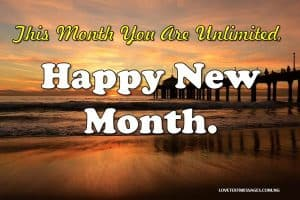 Happy New Month Prayers for Girlfriend