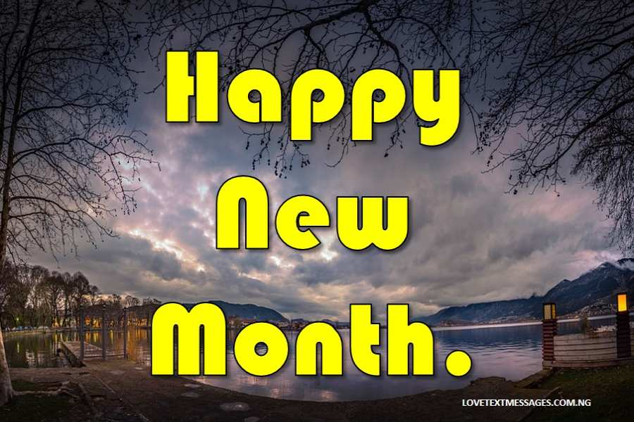 Happy New Month Prayers for Myself