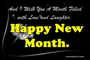 Happy New Month Prayers for Son