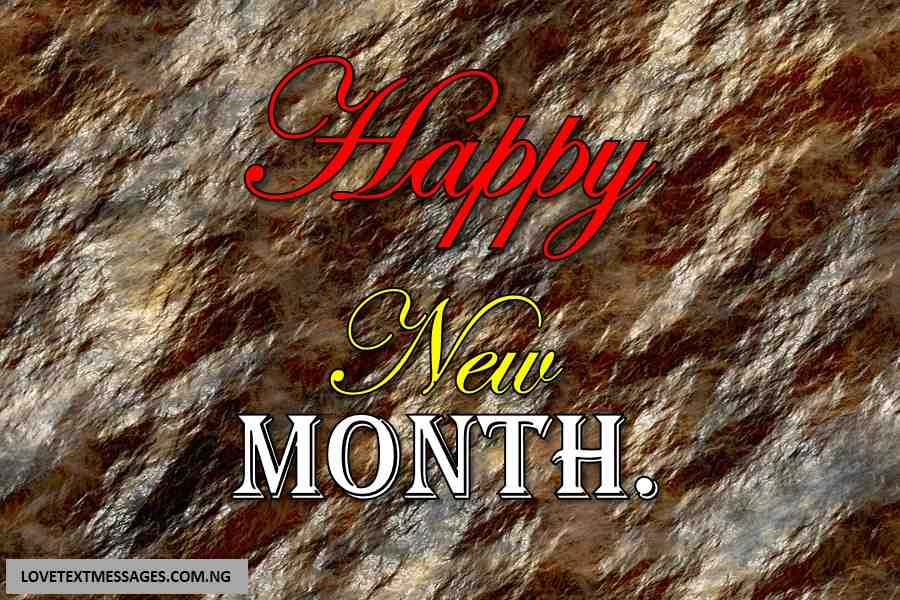 Happy New Month of April to Me