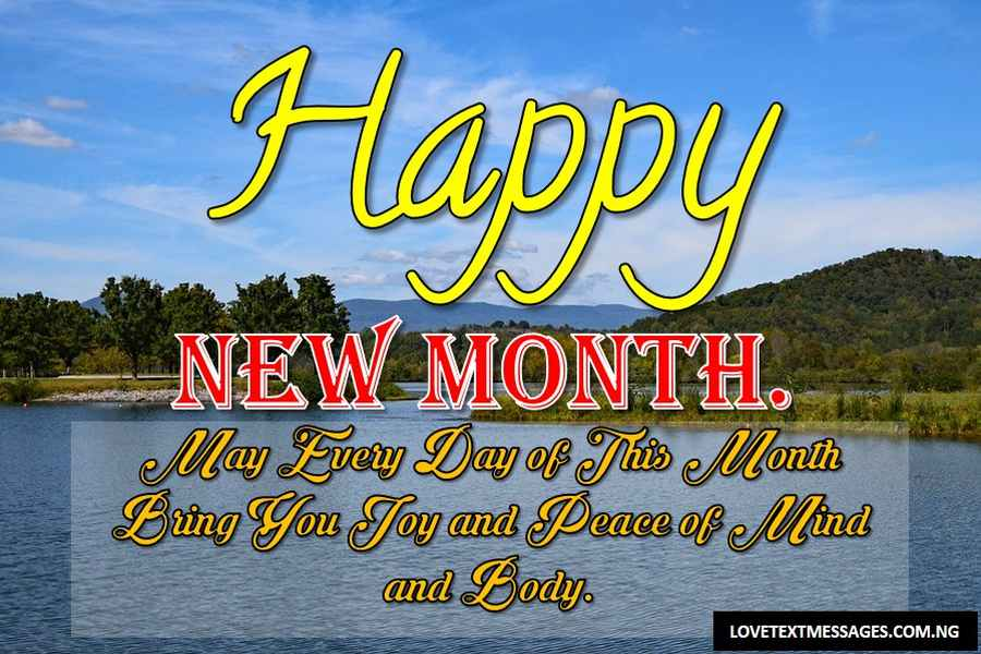 Happy New Month of April to My Boyfriend