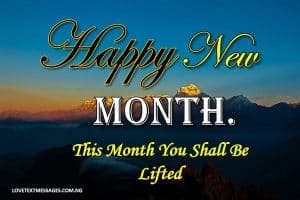 Happy New Month of April to My Daughter