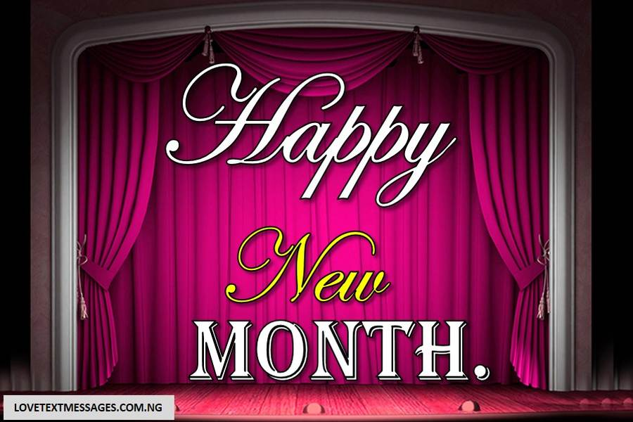 Happy New Month of April to Myself