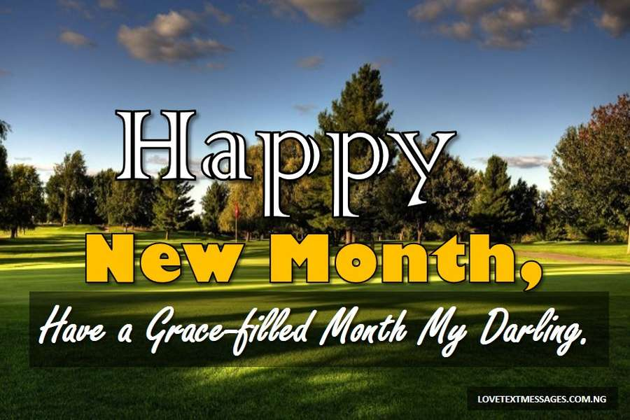 New Month Inspirational Message for Husband