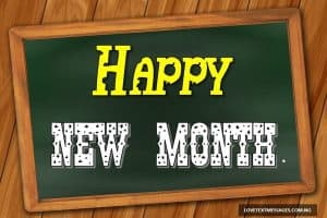 New Month Inspirational Message for Son