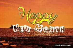 New Month Inspirational Message for Wife