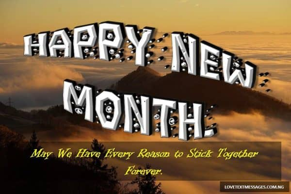 New Month Love SMS